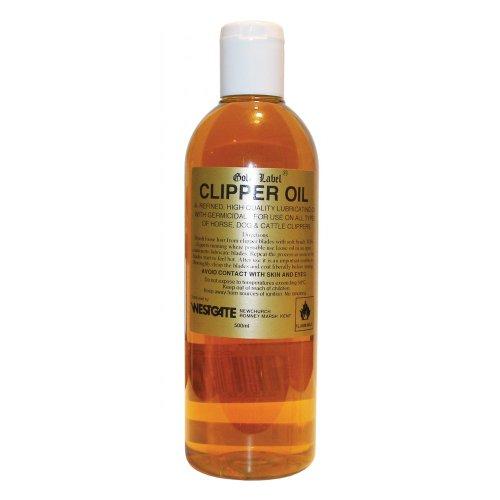 Gold Label Schermaschinenöl, 250ml - Ein preiswertes Schmieröl mit antibakteriellen Wirkstoffen