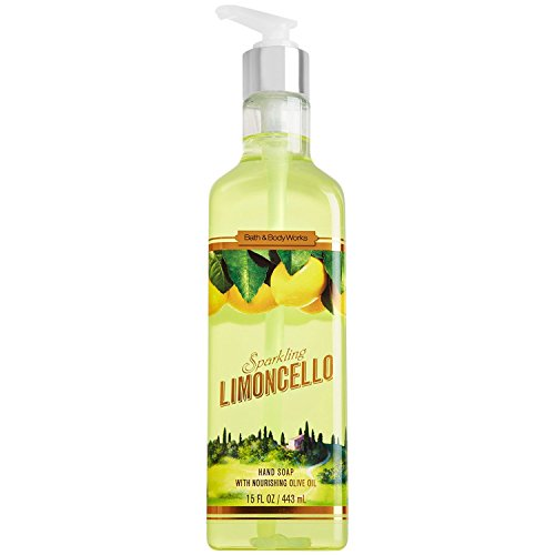 Sparkling Limoncello Hand Soap with Olive Oil 15.5 Oz By Bath & Body Works