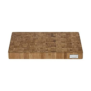 VonShef 100% Bamboo Wooden Cutting Board