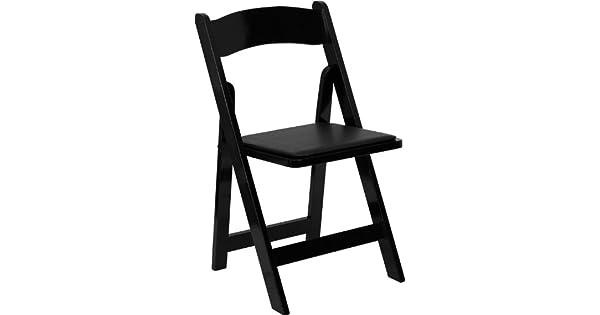 Amazon.com: (Paquete de 10), color negro plegable de madera ...