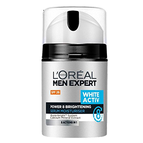 L'Oreal Men Expert White Activ Power 8 Brightening Serum Moisturizer 50ml ()