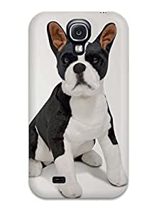 Top Quality Case Cover For Galaxy S4 Case With Nice Boston Terrier Dog Appearance
