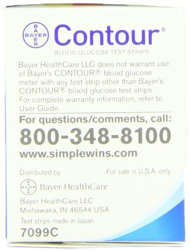 Bayer Contour Point of Care Test Strips, 50 CT