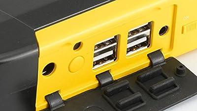 TM19 12V 20000mAh Car Jump Starter 4USB Multi-Function Power Bank Rechargeable Battery - Car Electronics - Jump Starter