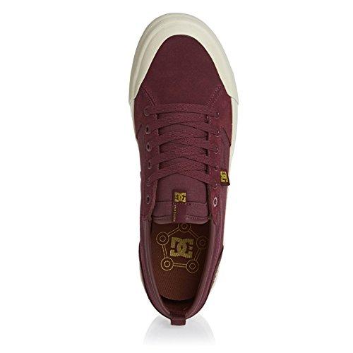 DC Men's Evan Smith Low-Top Sneakers Burgundy AhF3UrdL1