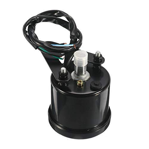 12V Universal LCD Digital Motorcycle Speedometer Tachometer Speed Gauge Odometer Oil Level Gauge Motorcycle Accessories Instruments