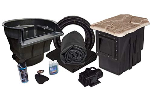 Half Off Ponds - MDP2 - PondBuilder Crystal 4000 Pond Kit with 7