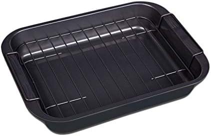 moderma 高炭素鋼 グリルパン フッ素3層コート グリル専用 焼き魚 グリル トレー