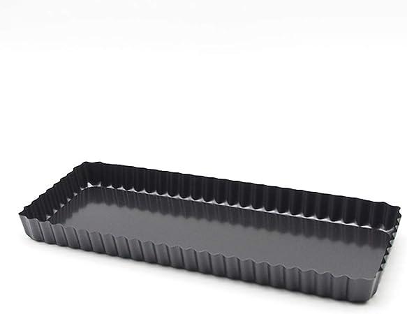 Ardtime TG-RECT Moule /à Tarte Fond Amovible Forme Rectangulaire 35 x 11 cm