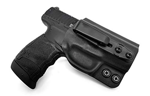 Concealment Express Tuckable IWB KYDEX Holster fits: Walther PPS M2 (BLK) - Ambidextrous - Adjustable Cant & Ride Height - US Made