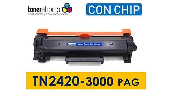 Toner Compatible con Cartucho Tn2420 / Tn2410 con Chip Alta ...