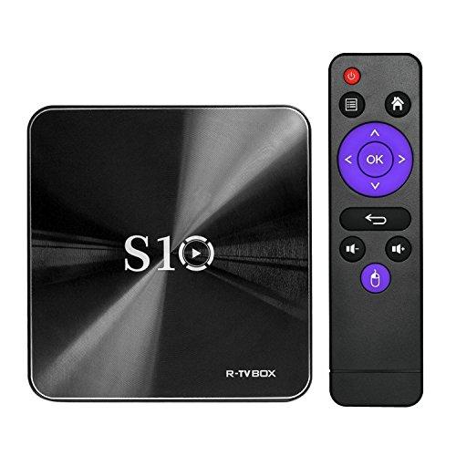 AKImart S10 R-TV BOX Octa Core DDR4 3GB RAM 32GB ROM 4K Android 7.1 WIFI Bluetooth 4.1 Media Player by S10 R-TV BOX