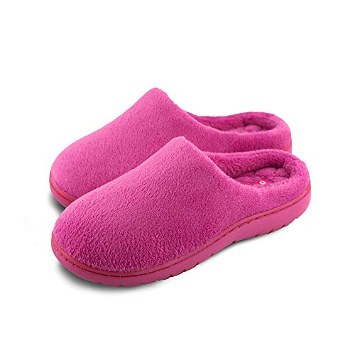 Pupeez Girls Clog Slippers; Ideal Classic and Fancy Terry House Shoe Great for Indoor Outdoor