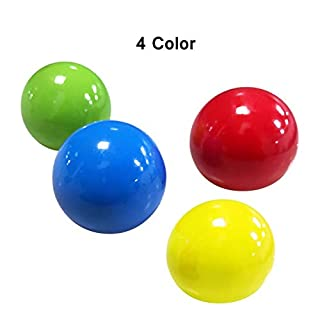 N/D Stress Relief Balls,Sticky Wall Ball Sticky Target Ball,Sensory Toys Stress Ball, Hand Exercise Stress Balls,Relief Toys Perfect for Kids Adults Toss and Catch Games