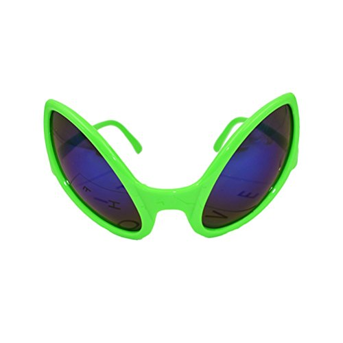 BESTOYARD Novelty Alien Sunglasses Costume Funny Eyeglasses Party