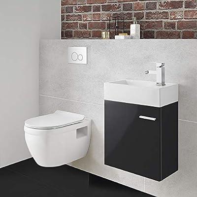 Swiss Madison SM-WT450 Ivy Wall Hung Elongated Toilet Bowl 0.8/1.28 GPF Dual Flush