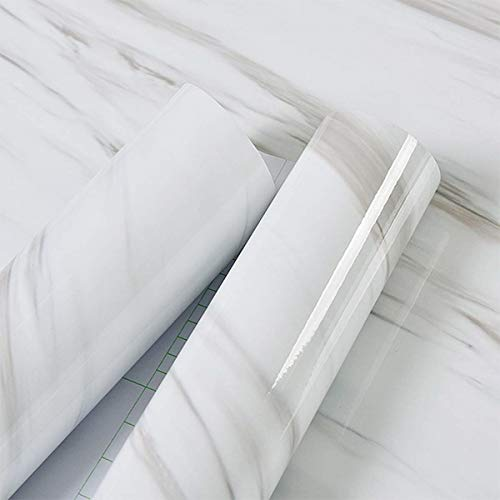 white contact paper removable wallpaper peel and stick tile backsplash adhesive waterproof countertop covers bathroom vinyl shelf covering faux window decoration refrigerator counter shelf drawer line