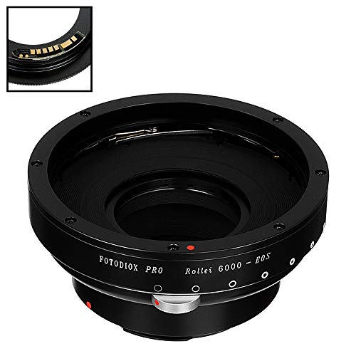 Fotodiox Pro Lens Mount Adapter Compatible with Rollei 6000