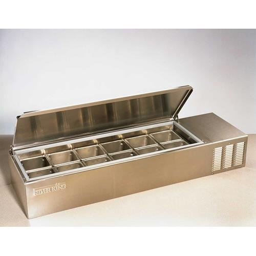 Silver King SKPS12/C1 Refrigerated Countertop Prep Station by Silver King