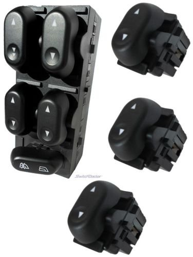 Window F150 2004 Ford (Fits Ford F-150 Master Power Window Switch and 3 Passenger Window Switches 2004-2008)