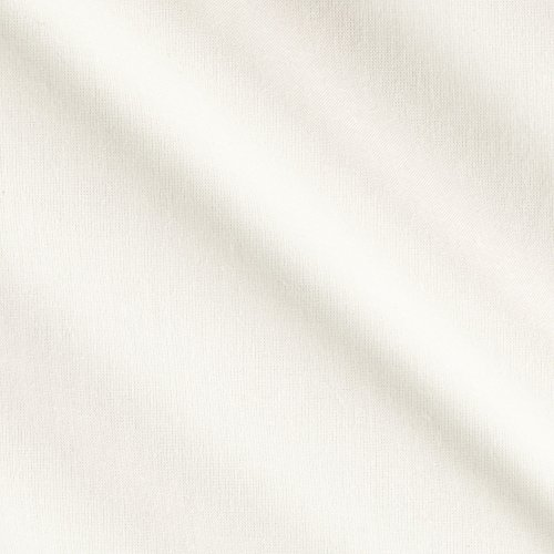 an Organic Cotton Cambric Natural Fabric by The Yard, Natural ()