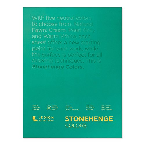 Legion Paper Stonehenge Pad (L21-STP250MC912), Multicolor for sale  Delivered anywhere in USA
