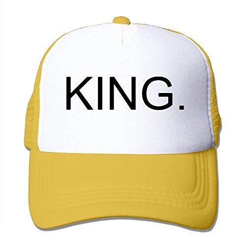 YoupE KING Outdoor Mesh Hat Running Caps Hats Adjustable Yellow