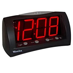 WESTCLOX 66705A / Extra Large Display AlarmClock