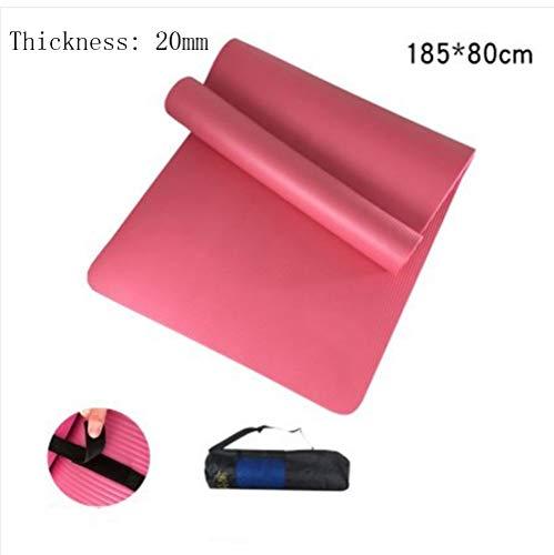 Mdck Dance Mats, 185cm Single Pad Yoga Mats Thickened 20mm Wide 80cm Yoga Mats