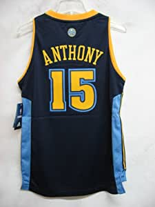 Carmelo Anthony Denver Nuggets NAVY NBA YOUTH Swingman Jersey (Large 14/16)