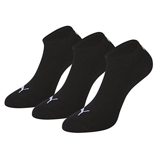 Puma Hellblau Sneakersocken Schwarz weiß navy 3er-pack
