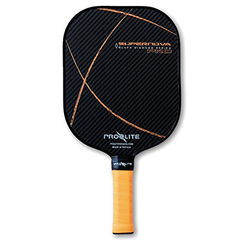 - Pro-Lite Prolite Supernova Black Diamond Pickleball Paddle (Orbital Orange)