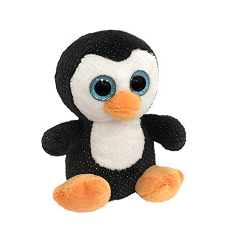 Enesco Peluches Kalidou El Pingüino Pingoo, Poliéster, Negro, 14x14x16 cm: Amazon.es: Hogar