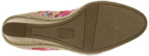 LifeStride Women's Listed Wedge Pump Pink Multi cheap shop offer amazing price sale online footlocker 100% authentic for sale where can you find MHWG8e