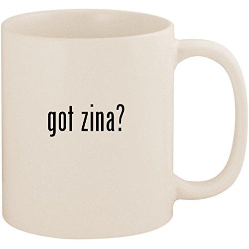 got zina? - 11oz Ceramic White Coffee Mug Cup, White ()