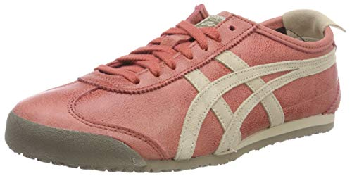 600 Brick Mexico Fitnessschuhe Red Asics 66 Erwachsene Unisex Feather Rot Grey vwqPf