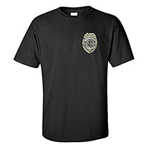 VictoryStore Back The Badge T-Shirt - Support Our Police. (Medium, Black)