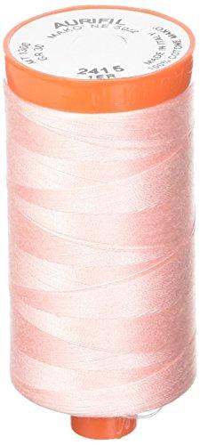 Aurifil A1050-2415 Solid 50wt 1422yds Blush Mako Cotton Thread -