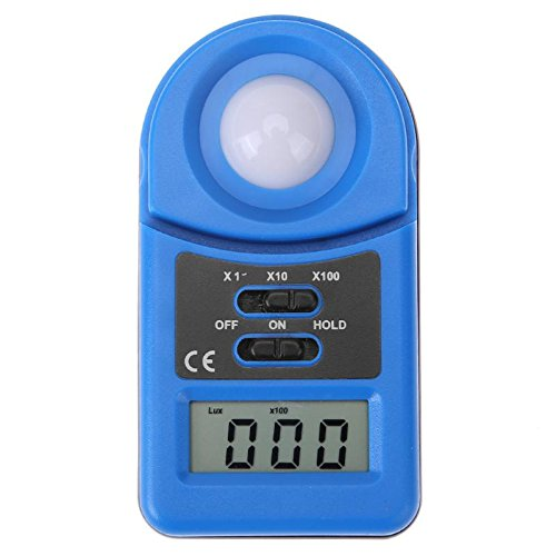Xligo Digital 50000 Lux Meter illuminometer Photometer Luxmeter Light Meter Luminometer Mini Illuminometer High Precision Light ()