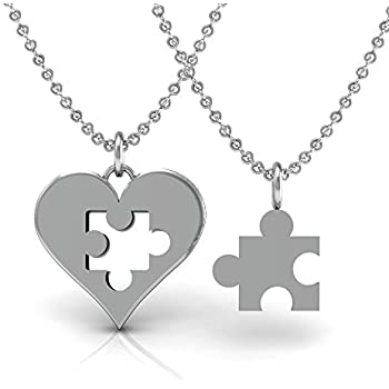 Amazon The Best Two Piece Set For Mother And Daughter Pendant