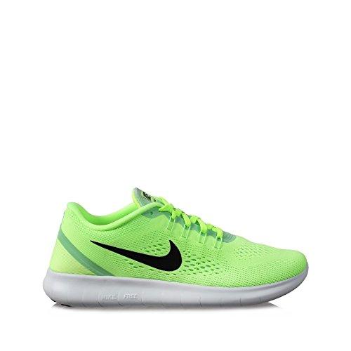 Nike Women's Free RN Running Shoes Ghost Green/Fresh Mint/Off White/Black 8.5 B(M) US (Green Nike Running Shoes)