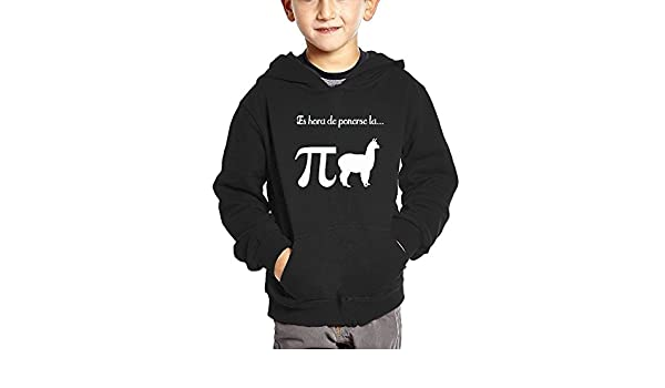 Amazon.com: Oshrily Funny Llama Pi Pijama Kids Hooded Sweatshirt Pocket Pullover: Clothing