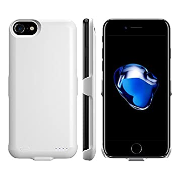 naack Funda bateria iPhone 6 /6S, 7/7s, 3000mAh. Carcasa Protectora para iPhone 7, Funda Cargador iPhone 6/7, Funda Cargadora iPhone 7/7S Ultra Fina, ...