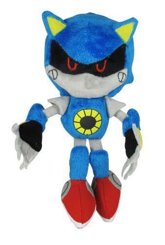 Jazwares Sonic the Hedgehog ~ 7.5 Classic Metal Sonic Plush by Sonic