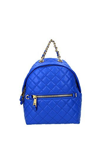 2A761380020299 Moschino Bags Backpack Women Leather Blue