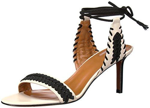 K Calf Ivory Black Sandal Dress Natalia Marvin by Women Aquatalia nqZaxa