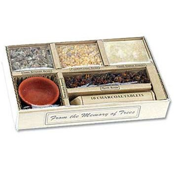 Auroshikha Resin Incense Gift Set Auroshikha Incense Gift Set