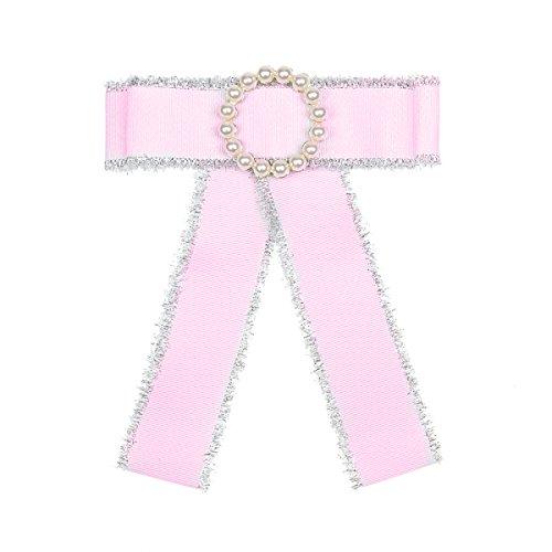 treend24 barroco lazo rosa corona de perlas brillantes magnético Gótico Blusas Anime Cosplay terciopelo satén barroco