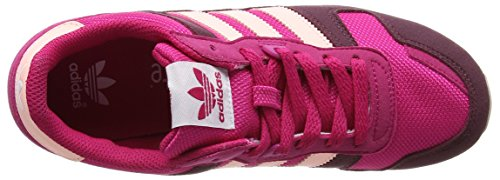 adidas Zx 700, Sneakers Basses Mixte Enfant, Rose (Bold Pink/haze Coral S17/maroon), 35.5 EU