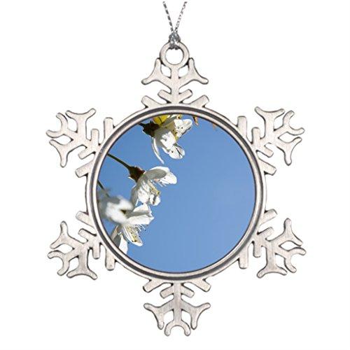 (GoingOn Tree Branch Decoration Cherry Christmas Snowflake Ornament Balls)